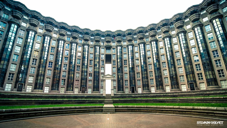 Les espaces d abraxas sylvain golvet for Architecture noisy le grand