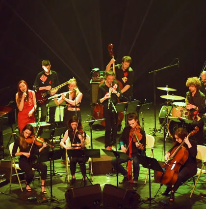 Wanderlust Orchestra on Tour